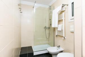 A bathroom at Hotel Residenza Gra 21