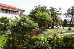 A garden outside Quinta de Santo Antonio