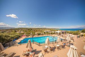 A view of the pool at Zante Palace or nearby