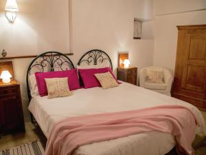 A bed or beds in a room at Apartment Casa Argento
