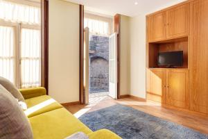 A television and/or entertainment center at Chateau Apartments