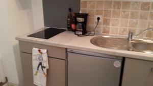 A kitchen or kitchenette at Le Saint Leonard... Il est Vert