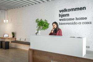 The lobby or reception area at Eric Vökel Boutique Apartments - Sagrada Familia Suites