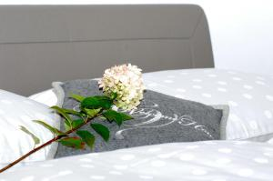 Posteľ alebo postele v izbe v ubytovaní Chalet Ur-Gmiatli
