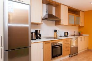 A kitchen or kitchenette at Villa Sabine