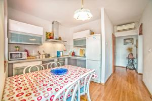 A kitchen or kitchenette at Apartment Iva