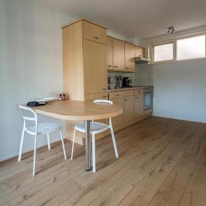 Küche/Küchenzeile in der Unterkunft Appartementen Domburg