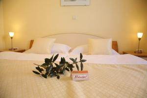 A bed or beds in a room at Villa Punta