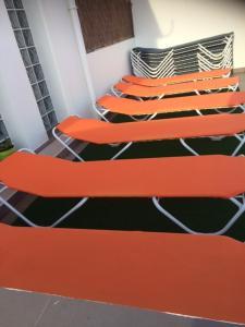 A bed or beds in a room at Apartamentos San Pablo