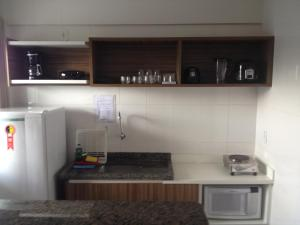 A kitchen or kitchenette at Lacqua Diroma