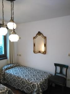 A bed or beds in a room at Haizeaberri