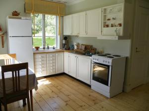 Ett kök eller pentry på Röda Stugan
