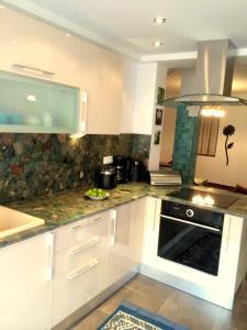 Küche/Küchenzeile in der Unterkunft Apart Mahdia