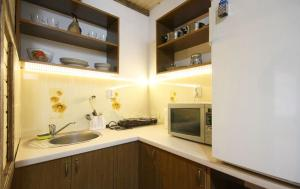 A kitchen or kitchenette at Art d'ECO