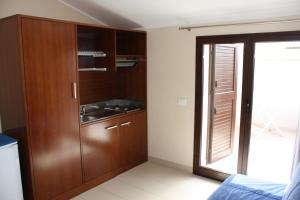 A kitchen or kitchenette at Case Vacanze Bellavista