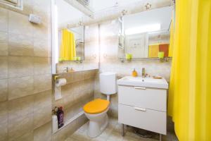 Kúpeľňa v ubytovaní Historical Center Apartment
