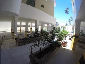 A balcony or terrace at Apartamento Capitães de Areia