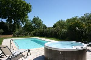 The swimming pool at or close to Casa Cervognano