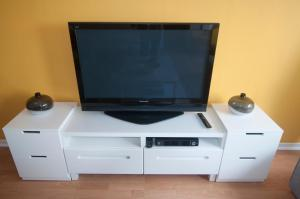 A television and/or entertainment center at Apartment Duinenblik 5
