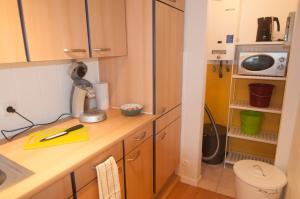 A kitchen or kitchenette at Apartment Duinenblik 5