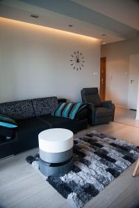 A seating area at Baltic View Apartment