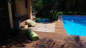 The swimming pool at or near Casa Da Duda