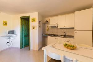 A kitchen or kitchenette at Tavernetta Quattro