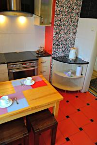 Cuina o zona de cuina de Jasmine Apartamenti