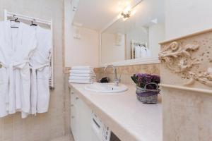 A bathroom at Vip Apartment In Minsk