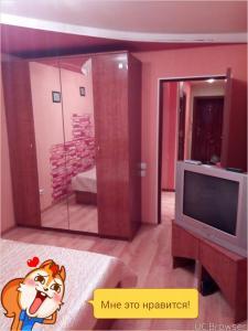 Телевизор и/или развлекательный центр в Apartment On Germana