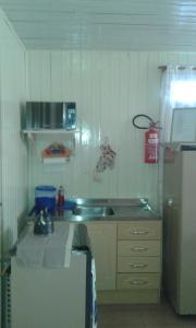 A kitchen or kitchenette at Casa Canela