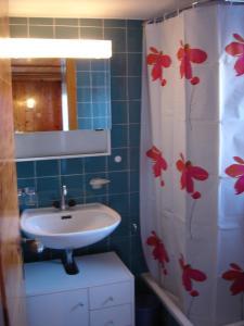 Ein Badezimmer in der Unterkunft Chalet Edith Oberems