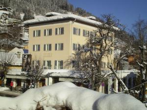 Appartements Steiner during the winter