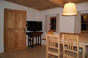 TV/Unterhaltungsangebot in der Unterkunft Ferienhaus Kramerl