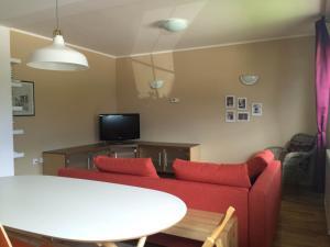 Posezení v ubytování Apartments Alpha Center