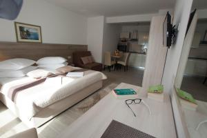 Krevet ili kreveti u jedinici u objektu Apartments Bota