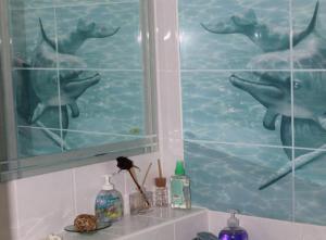 Ванная комната в Apartments Azina