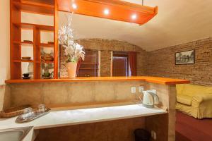 A bathroom at Central Apartment Studio
