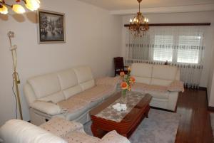 Ein Sitzbereich in der Unterkunft Balkan Luxe Apartments