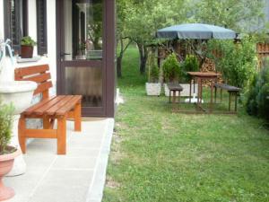 Veranda oz. zunanji predel v nastanitvi Apartment Milan