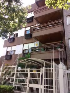 A balcony or terrace at Apartamento mobiliado Higienópolis