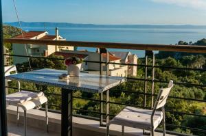 Balkón nebo terasa v ubytování Villa Steffi