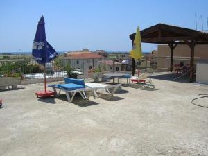 Патио или другая зона на открытом воздухе в Marios Apartments