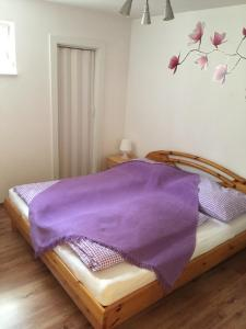 A bed or beds in a room at Villa Tuscia