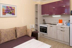 A kitchen or kitchenette at Mars Apartments in Tryavna Beach Complex