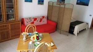 A seating area at La Mia Isola