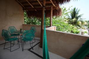 Un patio o zona al aire libre en Casa KanKin