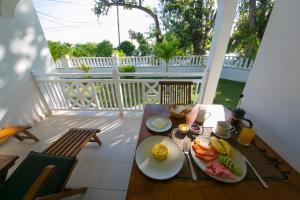 A balcony or terrace at Villa Koket