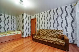 Кровать или кровати в номере Apartment Petrova