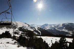 L'établissement Résidence Pierre & Vacances Les Trois Domaines en hiver